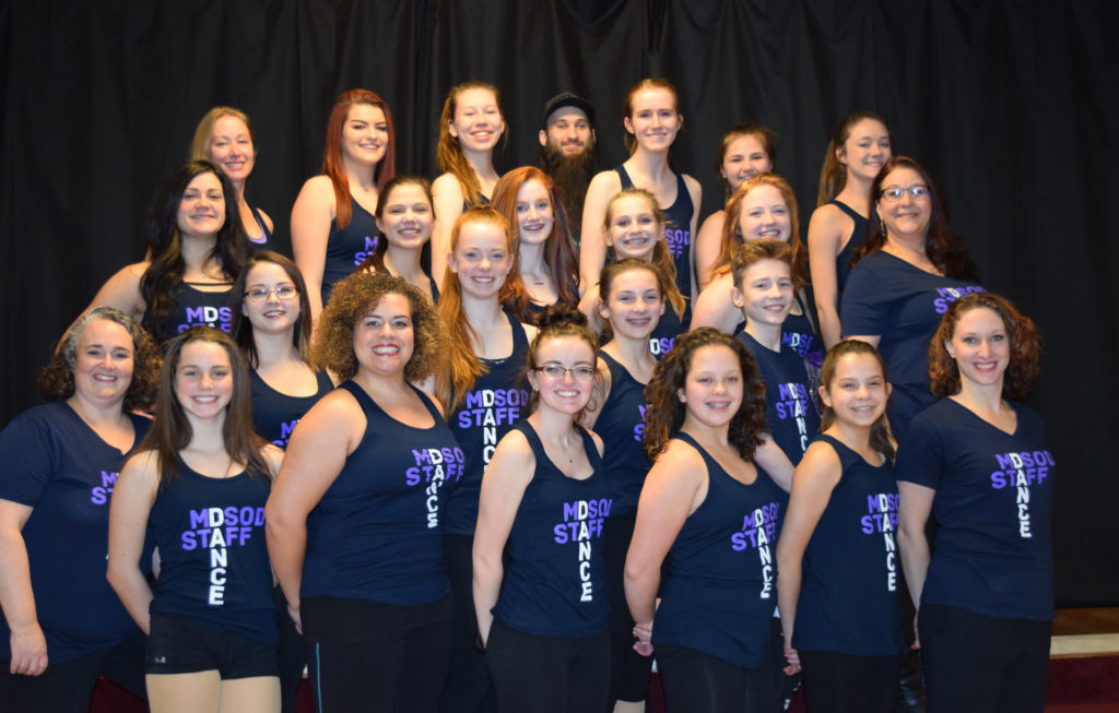 Miss Diannas School of Dance Staff Picture